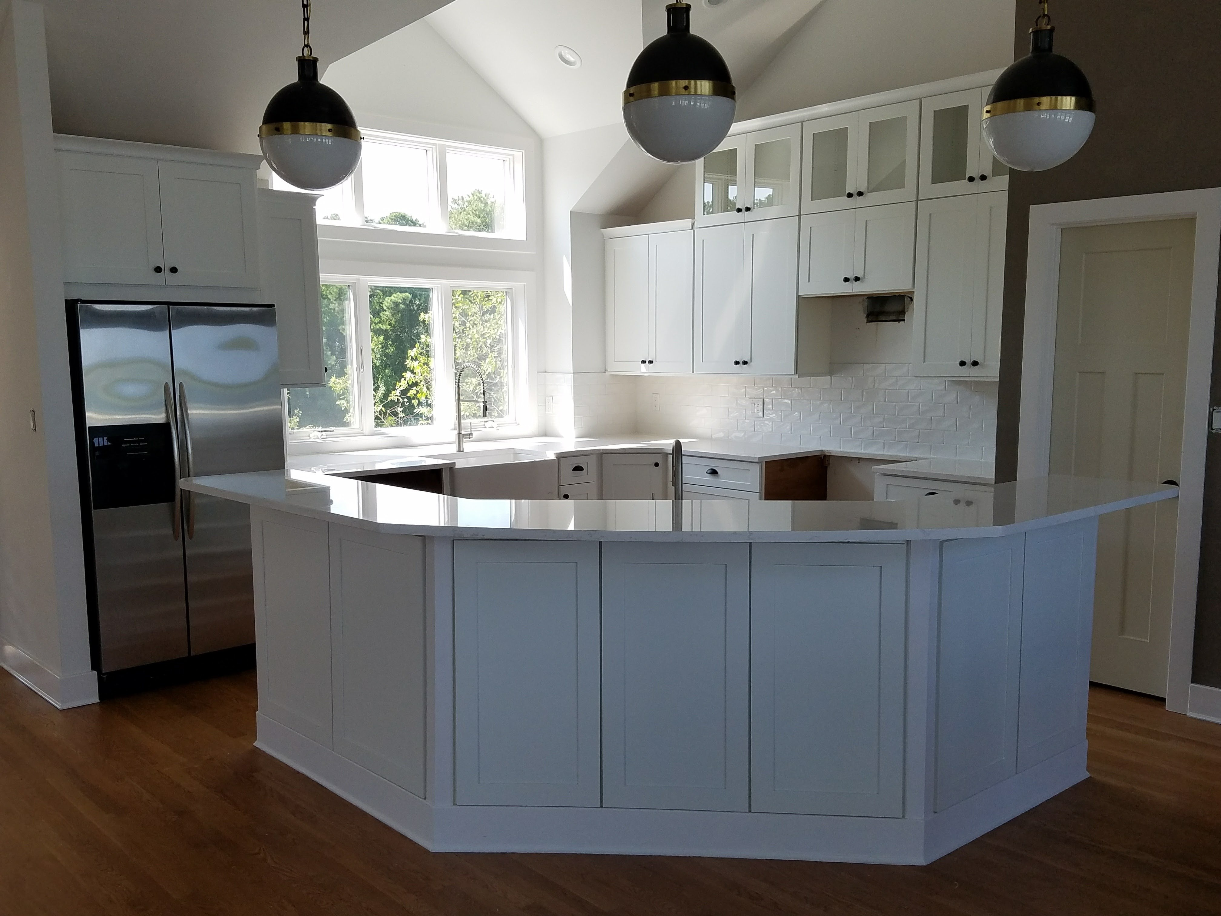 White and Bright Kitchen | Kitchen Remodeling Salisbury MD