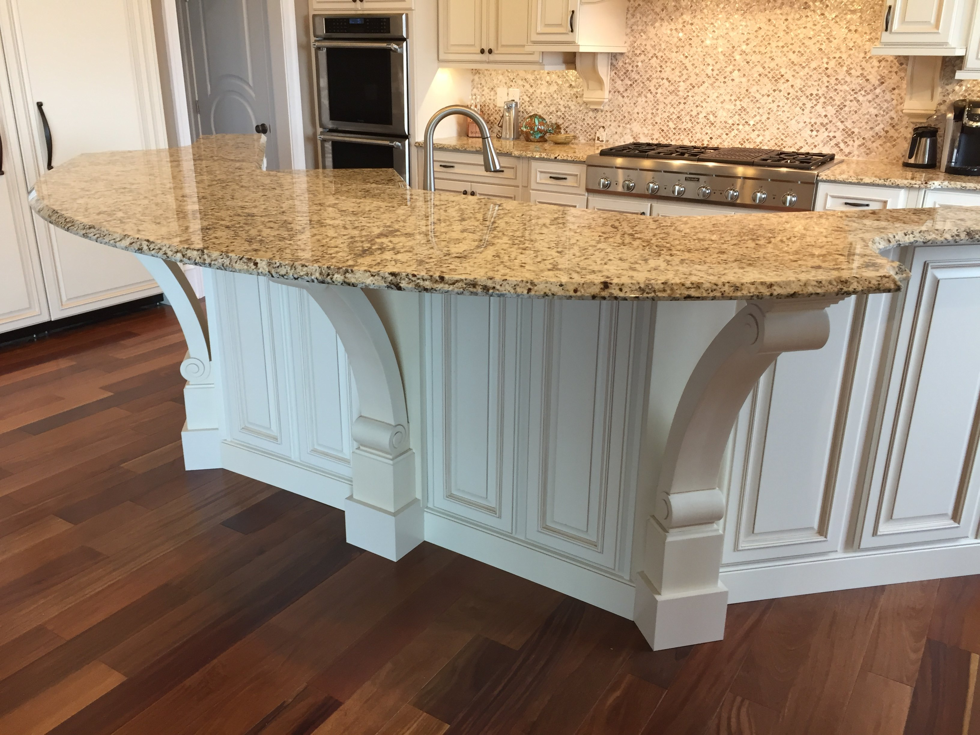Stunning Kitchen with Decorated Island Salisbury MD